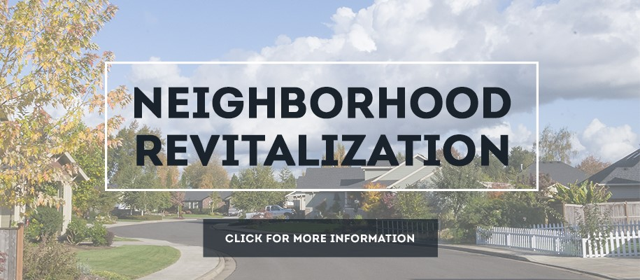 Neighborhood Revitalization Dates 2017